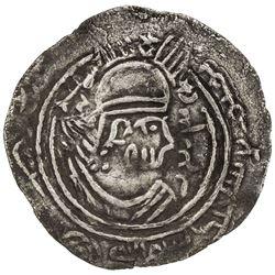 EASTERN SISTAN: Tamim b. Sa'id, 783-786, AR drachm (3.08g), SK (Sijistan), ND. VF