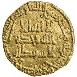 ABBASID: al-Saffah, 749-754, AV dinar (3.88g), NM, AH132. VF-EF