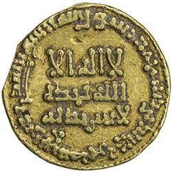 ABBASID: al-Hadi, 785-786, AV dinar (4.07g), NM, AH169. VF