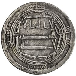 ABBASID: al-Hadi, 785-786, AR dirham (2.76g), Jayy, AH170. VF