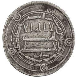 ABBASID: al-Rashid, 786-809, AR dirham (2.84g), Madinat Jayy, AH172. VF