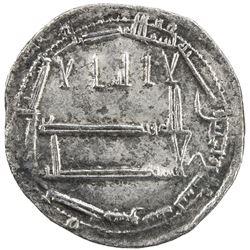 ABBASID: al-Rashid, 786-809, AR dirham (2.83g), Dimashq, AH189. VF-EF