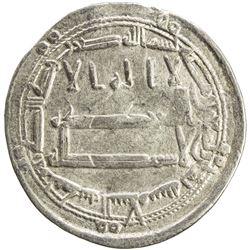 ABBASID: al-Amin, 809-813, AR dirham (2.87g), Madinat al-Salam, AH198. VF