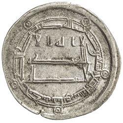 ABBASID: al-Amin, 809-813, AR dirham (2.98g), Nishapur (Naysabur), AH194. VF-EF