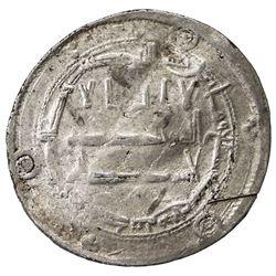 ABBASID: al-Ma'mun, 810-833, AR dirham (2.84g), Zaranj, AH207. F-VF