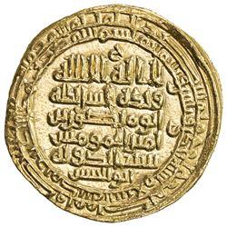 ABBASID: al-Muttaqi, 940-944, AV dinar (5.05g), Madinat al-Salam, AH331. AU