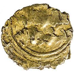 JAWHARID OF CORDOBA: temp. Abu'l-Walid Muhammad, 1042-1058, AV fractional dinar (0.63g), Qurtuba (Co