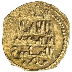 ABBADID OF SEVILLE: al-Mu'tamid Muhammad, 1069-1091, AV fractional dinar (1.44g), AH484. VF-EF