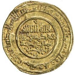 ALMORAVID: Yusuf, 1087-1106, AV dinar (3.93g), Sabta (Ceuta), AH484. VF-EF