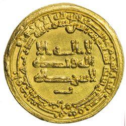TULUNID: Harun, 896-905, AV dinar (3.87g), Misr, AH290. AU