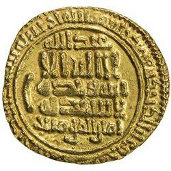 FATIMID: al-Mahdi, 909-934, AV dinar (4.18g), NM, AH315. EF