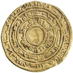 FATIMID: al-Mu'izz, 953-975, AV dinar (3.88g), Misr, AH358. F