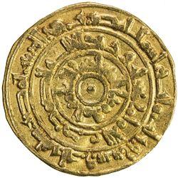 FATIMID: al-Mu'izz, 953-975, AV dinar (4.10g), Misr, AH363. VF