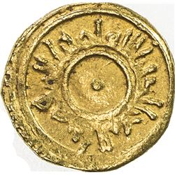 FATIMID: al-Mu'izz, 953-975, AV 1/8 dinar (0.59g), NM, ND. EF