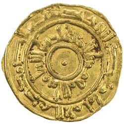 FATIMID: al-Mu'izz, 953-975, AV 1/4 dinar (1.05g), Siqilliya, AH362. EF
