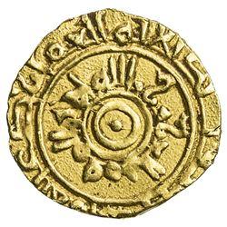 FATIMID: al-Mu'izz, 953-975, AV 1/4 dinar (1.04g), Siqilliya, DM. VF-EF