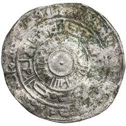 FATIMID: al-Mu'izz, 953-975, AR broad dirham (2.88g), Filastin, AH363. VG