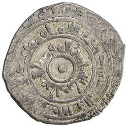 FATIMID: al-Mu'izz, 953-975, AR 1/2 dirham (1.44g), al-Mansuriya, AH353. VF