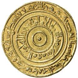FATIMID: al-'Aziz, 975-996, AV dinar (4.17g), Filastin, AH373. EF