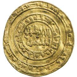 FATIMID: al-Hakim, 996-1021, AV dinar (3.85g), Misr, AH388. VF