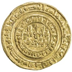FATIMID: al-Hakim, 996-1021, AV dinar (4.18g), Misr, AH393. F-VF