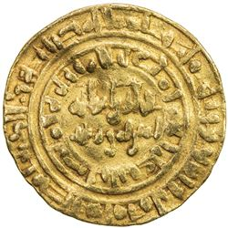 FATIMID: al-Hakim, 996-1021, AV dinar (4.27g), Misr, AH398. F-VF