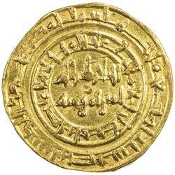 FATIMID: al-Hakim, 996-1021, AV dinar (4.23g), Misr, AH400. EF