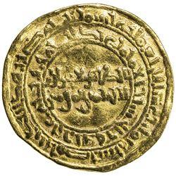 FATIMID: al-Zahir, 1021-1036, AV dinar (4.15g), Misr, AH418. F