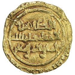 FATIMID: al-Zahir, 1021-1036, AV 1/4 dinar (0.81g), al-Mansuriya, AH423. VF