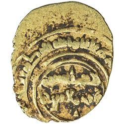FATIMID: Anonymous, 1036-1039, AV 1/4 dinar (rub'i) (0.96g) (Siqilliya), DM. VF