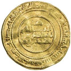FATIMID: al-Mustansir, 1036-1094, AV dinar (3.83g), Dimashq, AH435. F-VF