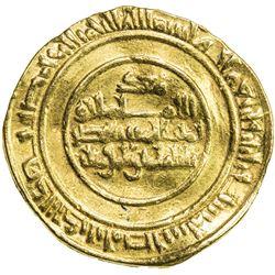 FATIMID: al-Mustansir, 1036-1094, AV dinar (4.13g), Misr, AH436. VF