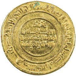 FATIMID: al-Mustansir, 1036-1094, AV dinar (4.24g), Misr, AH438. EF-AU