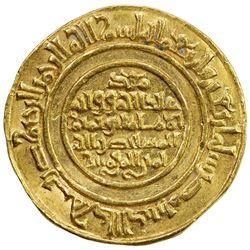FATIMID: al-Mustansir, 1036-1094, AV dinar (4.25g), Misr, AH440. EF