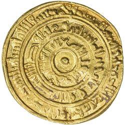 FATIMID: al-Mustansir, 1036-1094, AV dinar (3.31g), Dimashq, AH441. VF-EF