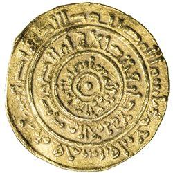 FATIMID: al-Mustansir, 1036-1094, AV dinar (3.42g), Sur, AH453. F-VF