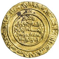 FATIMID: al-Mustansir, 1036-1094, AV dinar (3.84g), Tarabulus (Trablus), AH471. VF