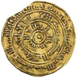FATIMID: al-Mustansir, 1036-1094, AV dinar (4.03g), al-Iskandariya, AH475. VF