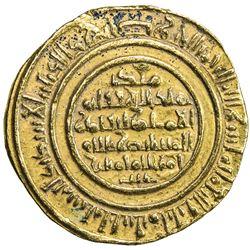 FATIMID: al-Mustansir, 1036-1094, AV dinar (4.41g), al-Iskandariya, AH482. VF