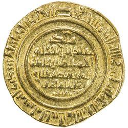 FATIMID: al-Mustansir, 1036-1094, AV dinar (4.22g), al-Iskandariya, AH482. EF