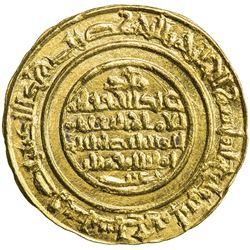 FATIMID: al-Mustansir, 1036-1094, AV dinar (3.37g), Sur, AH487. EF