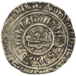 BURID: Abaq, 1140-1154, debased AV dinar (4.11g), Dimashq, AH548. VF-EF
