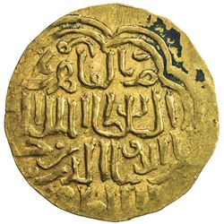 BAHRI MAMLUK: Hasan, 1347-1351, AV dinar (6.70g), al-Qahira, DM. VF