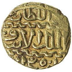 BURJI MAMLUK: Qansuh II al-Ghuri, 1501-1516, AV ashrafi (3.42g), al-Qahira, ND. VF