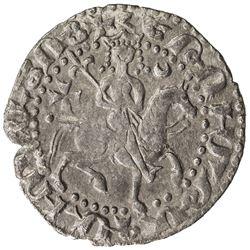 SELJUQ OF RUM: Kaykhusraw II, 1236-1245, AR bilingual tram (2.64g), Sis, AH637. VF-EF