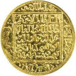 SELJUQ OF RUM: Kayka'us II, 1245-1249, AV dinar, Konya, AH644. ANACS MS63