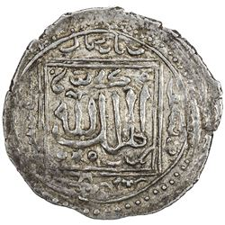 KARAMANID: Anonymous, ca. 1310-1330, AR dirham (1.96g), Ermenek, AH71x. EF