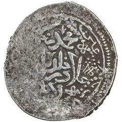 KARAMANID: Muhammad b. 'Ala al-Din, 1402-1419, AR dirham (1.67g), Larende, ND. VF