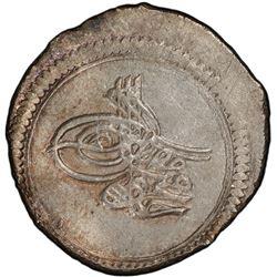 AZERBAIJAN: Mahmud I, 1730-1754, AR abbasi, Ganja, AH1143. PCGS MS63