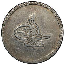 TURKEY: Mustafa III, 1757-1774, AR 20 para, Islambul, AH[11]85. PCGS VF